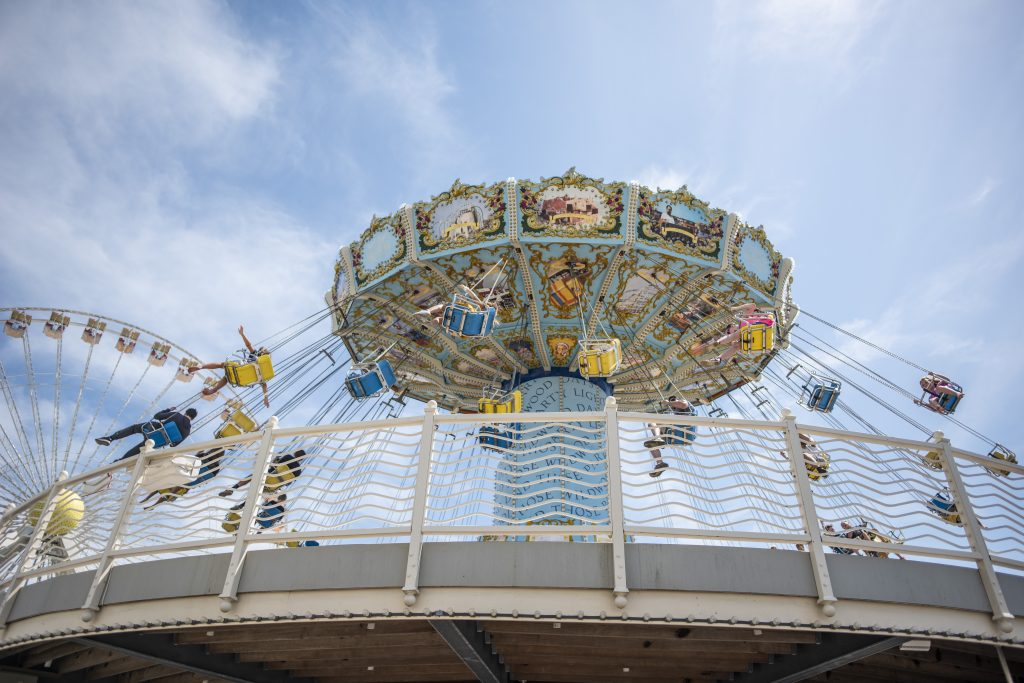 Take a stroll to the Amusements from Gold Crest Motel